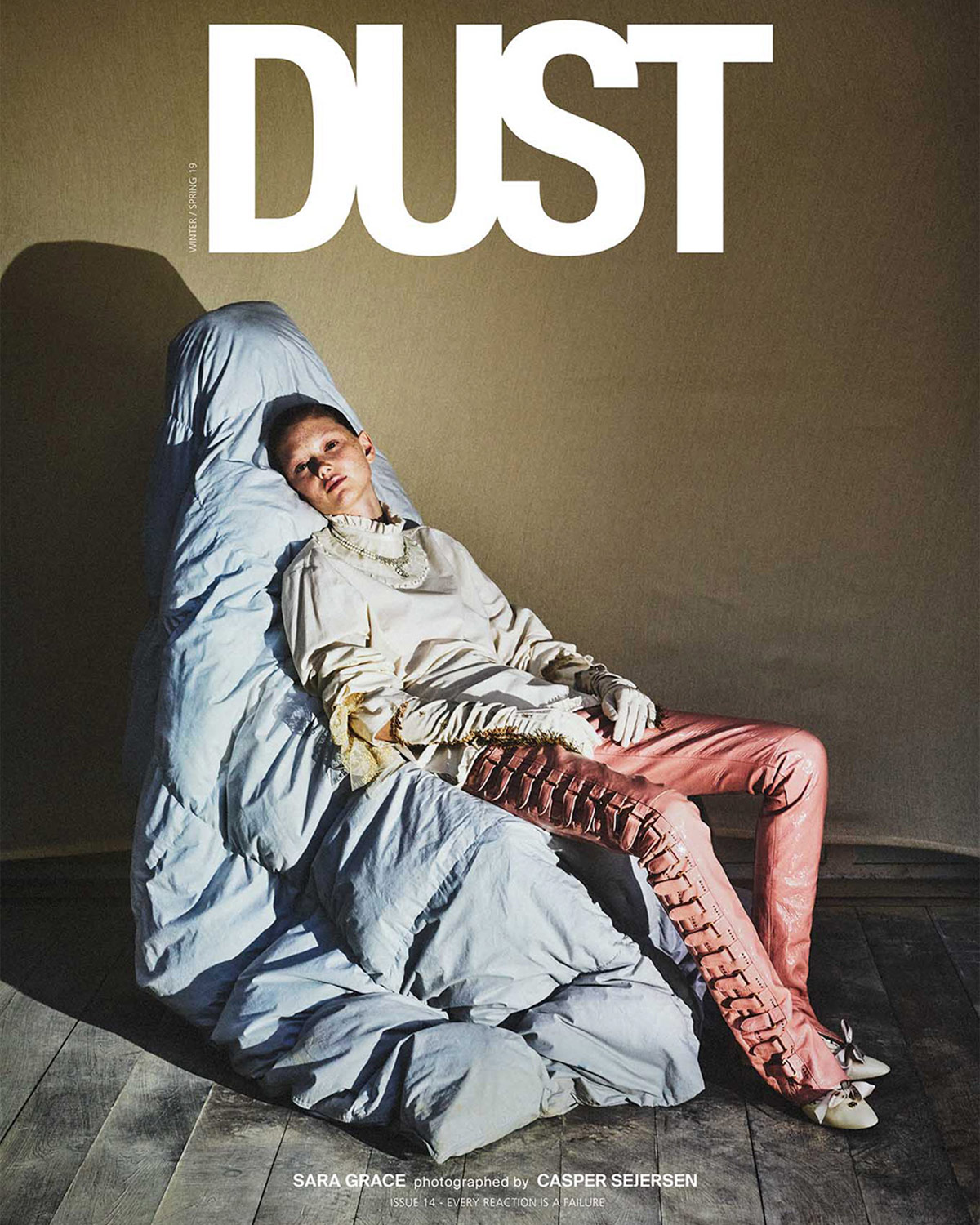 DUST ISSUE 14 – EVERY REACTION IS A FAILURE — Cover 4