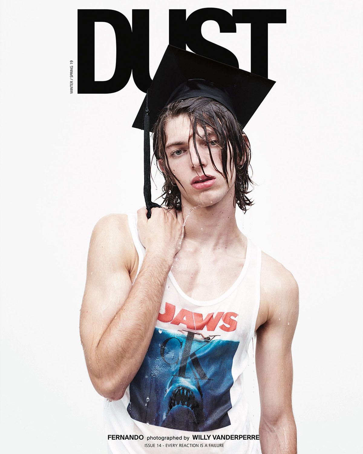 DUST ISSUE 14 – EVERY REACTION IS A FAILURE — Cover 1