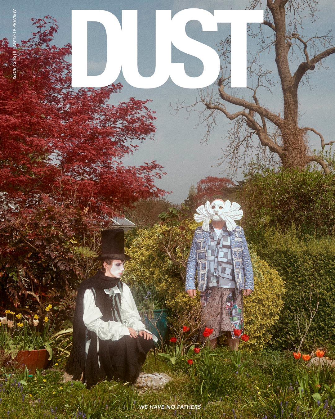 DUST ISSUE #13 WE HAVE NO FATHERS — Cover #3