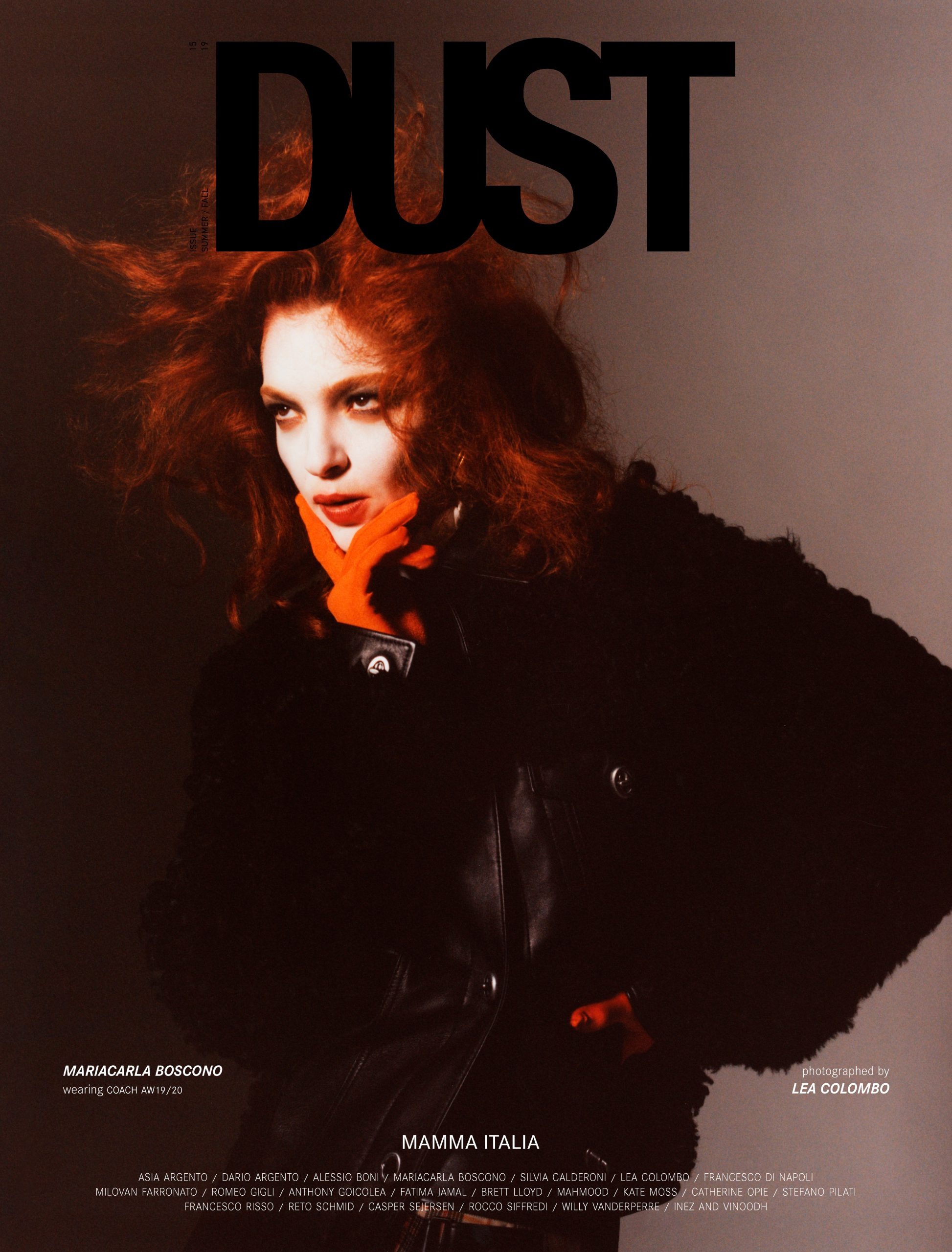 DUST ISSUE #15 MAMMA ITALIA Cover #10