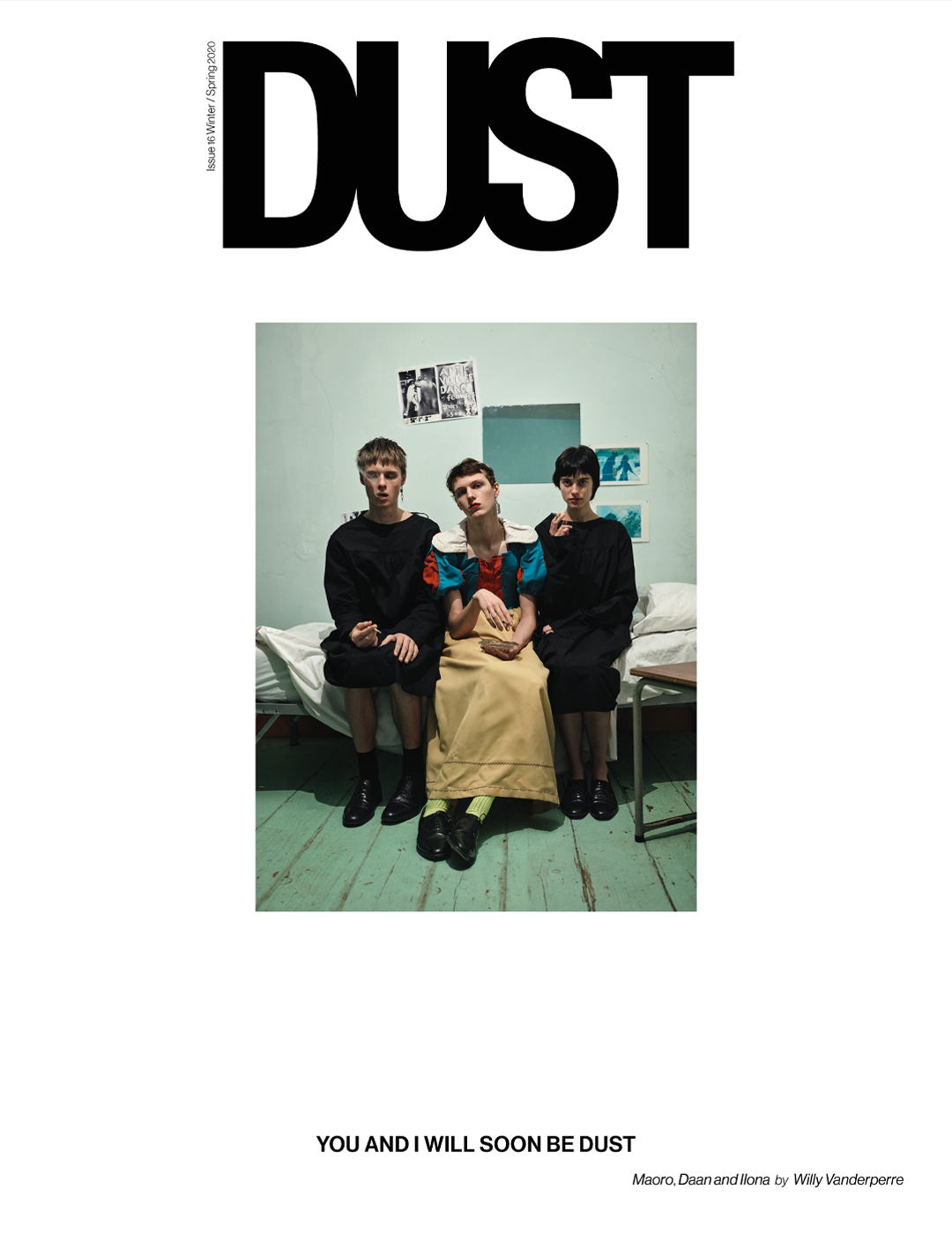 DUST ISSUE #16 YOU AND I WILL SOON BE DUST – Cover #2