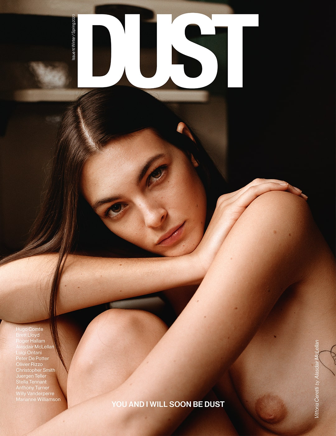 DUST ISSUE #16 YOU AND I WILL SOON BE DUST – Cover #6