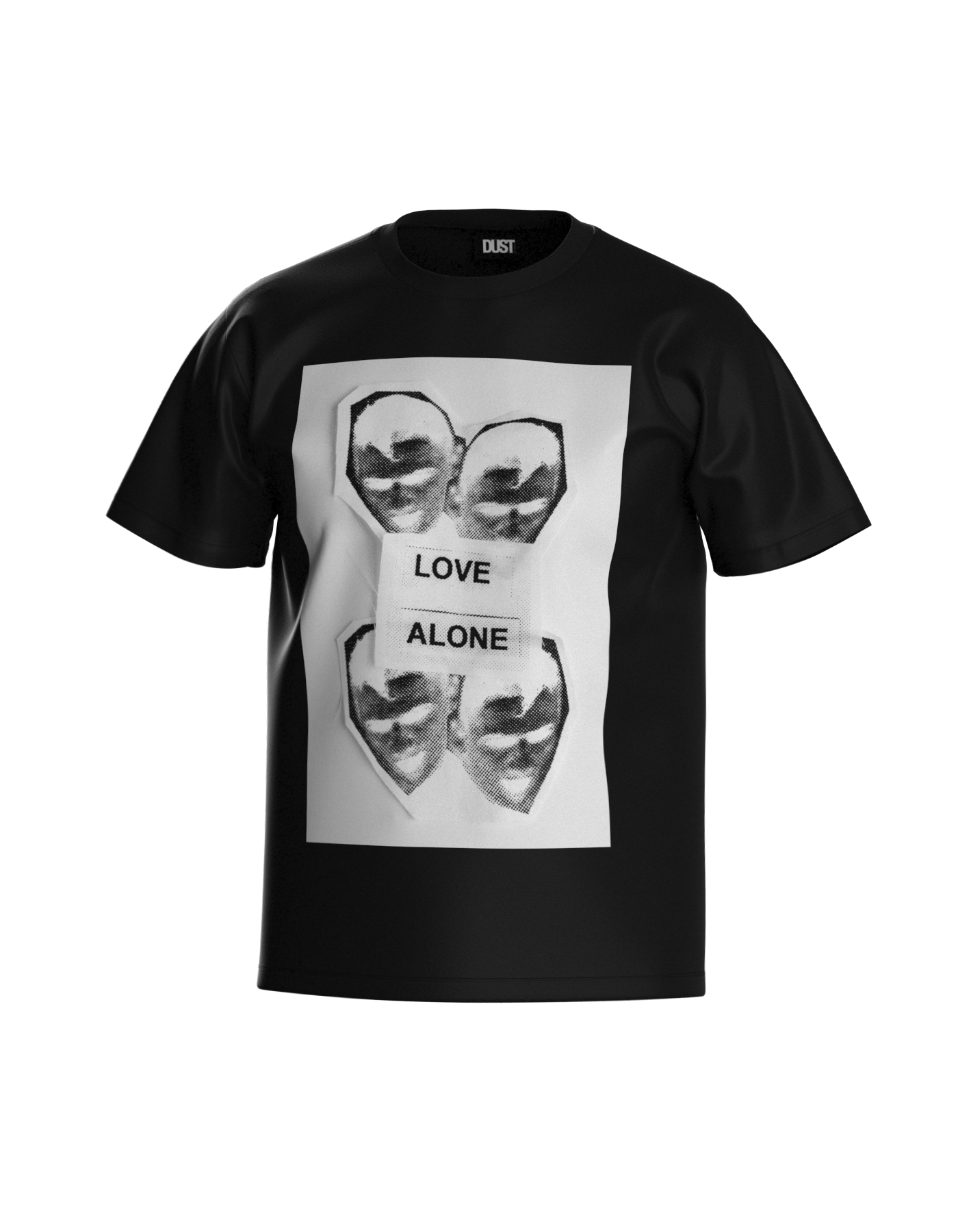 LOVE ALONE T-SHIRT BLACK