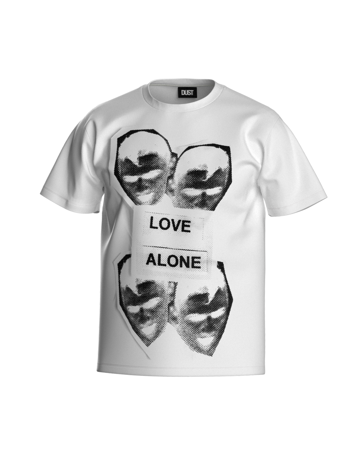 LOVE ALONE T-SHIRT WHITE
