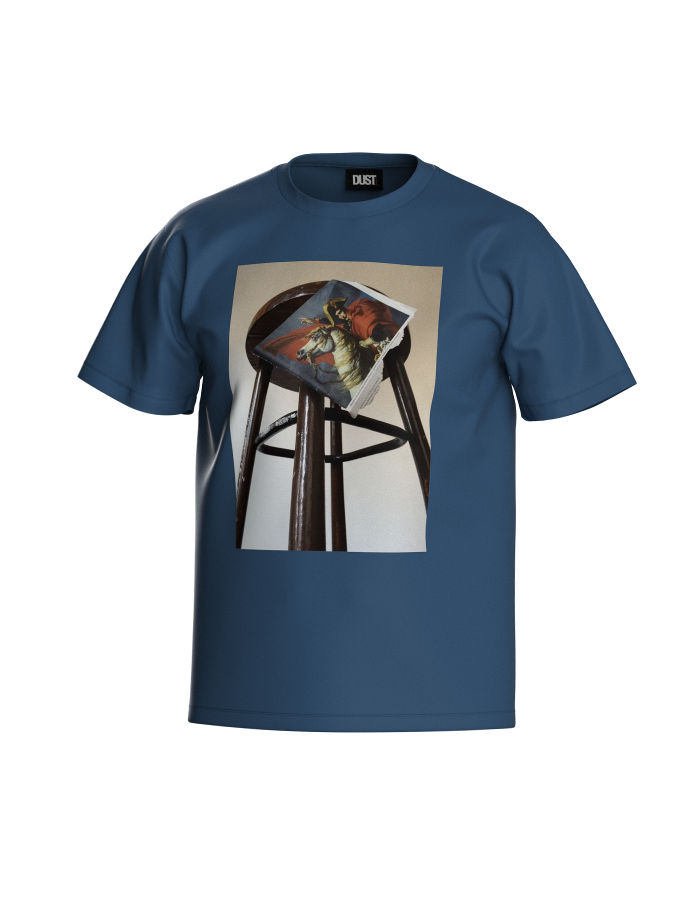 TWO BEGGARS T-SHIRT BLUE