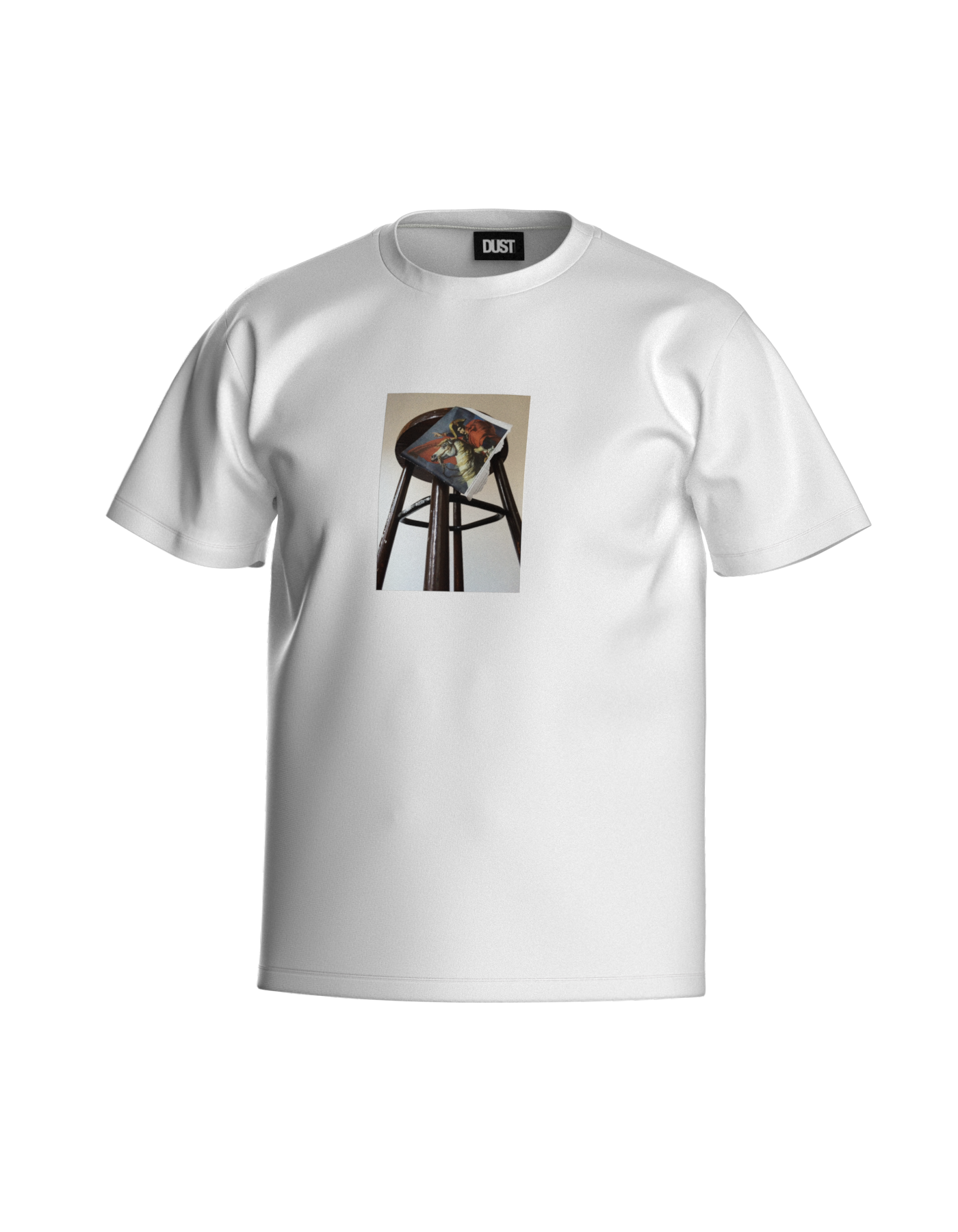 TWO BEGGARS T-SHIRT WHITE