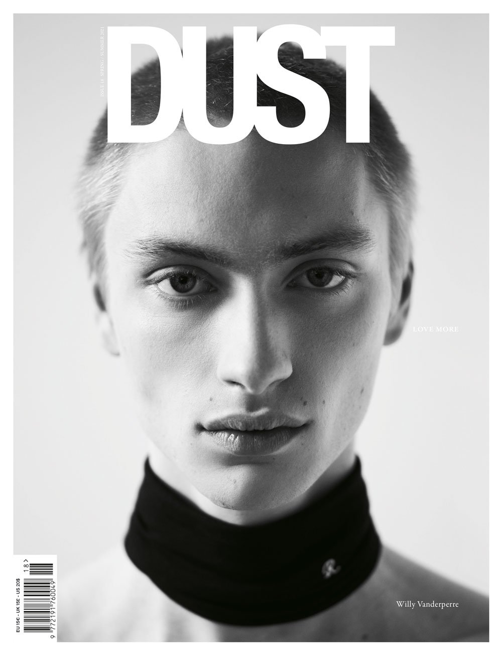 DUST ISSUE #18 LOVE MORE S/S21 – Cover #1