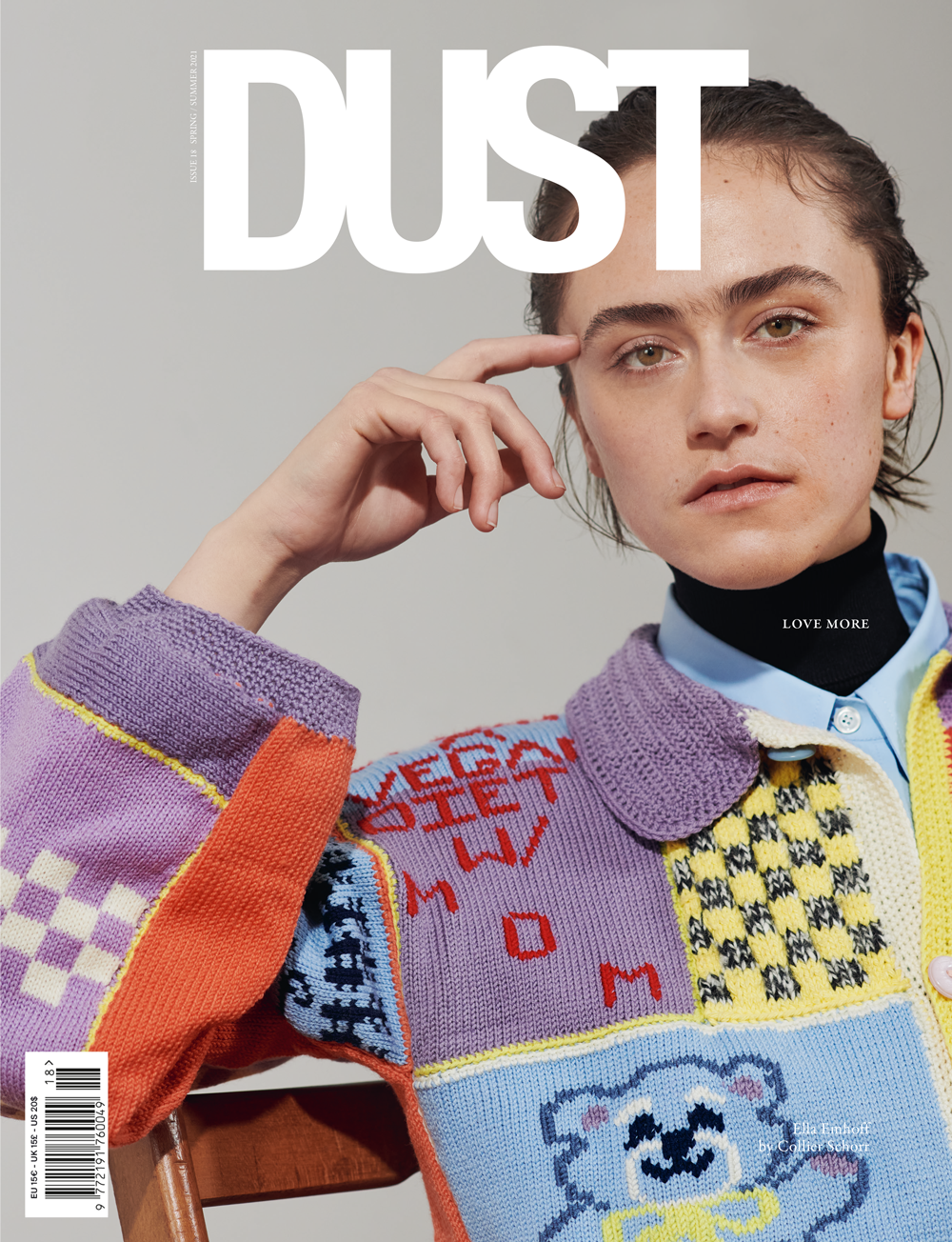 DUST ISSUE #18 LOVE MORE S/S21 – Cover #3
